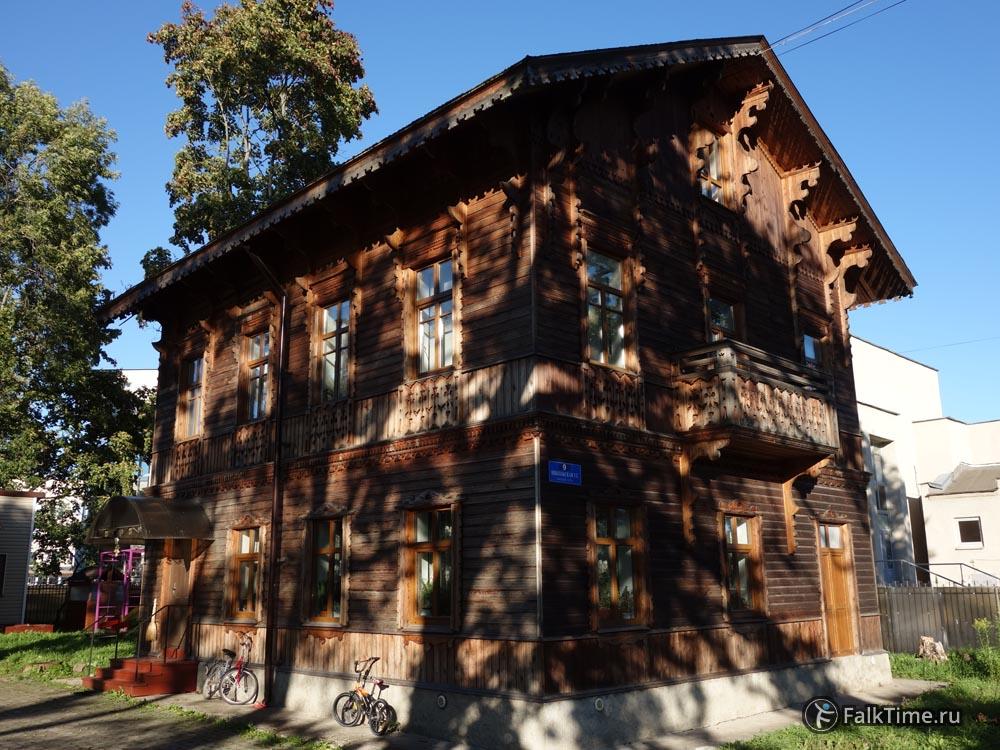 Деревянное зодчество в Петергофе