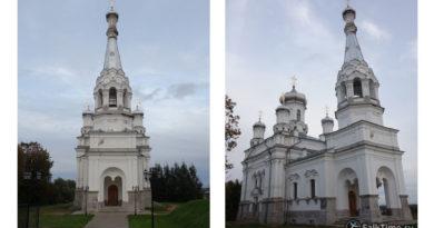 Александровская церковь в Низино, Ленинградская область