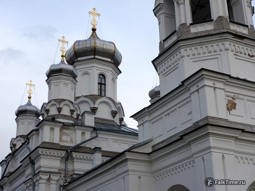 Купола Александровской церкви