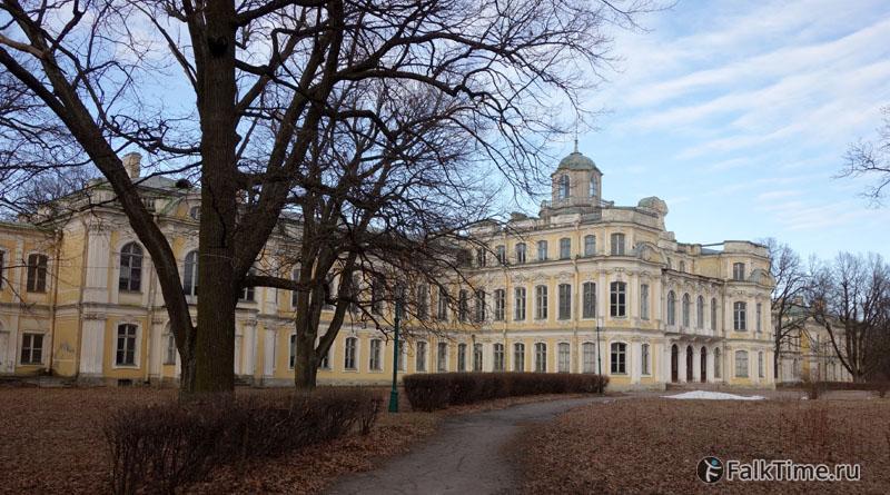 Дворец в Знаменке