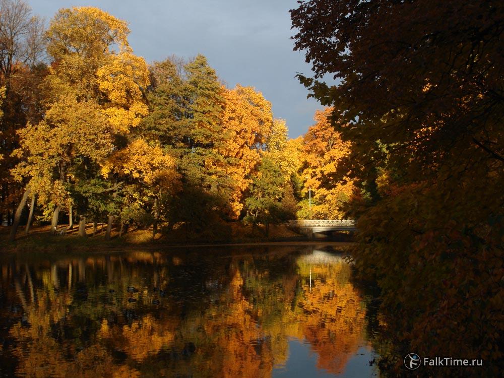 Золотая осень на Елагином острове